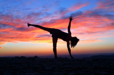 Outdoor Yoga Mitzpe Ramon