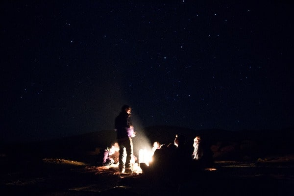 Stargazing Ramon Crater